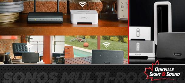 Sonos multi-room audio – music wherever, whenever