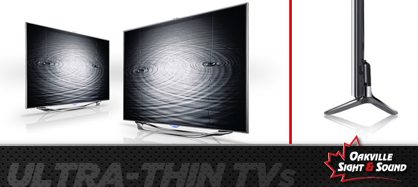 Ultra-thin TVs – trimming the fat